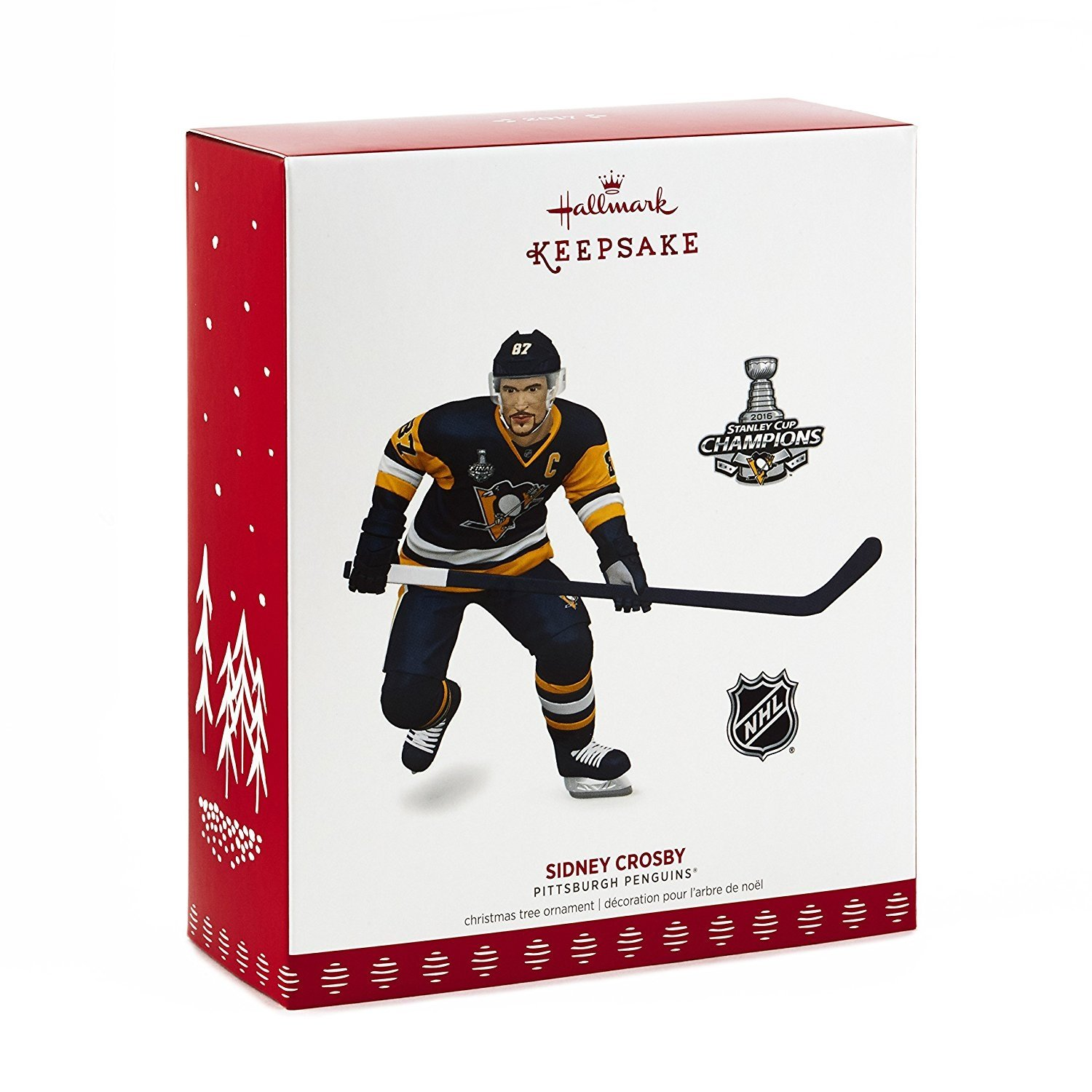 Hallmark Nhl Pittsburgh Penguins Sidney Crosby Keepsake Christmas Ornament