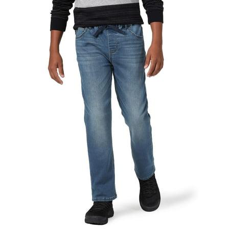 Wrangler Boys 4-16 & Slim, Husky Knit Slim Fit Jeans
