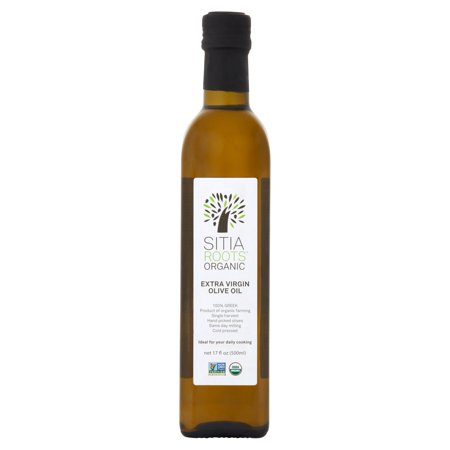 Sitia Roots Organic Extra Virgin Olive Oil, 17 fl -