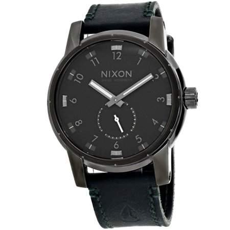 Nixon Mens Patriot Watch Quartz Mineral Crystal A938 2072