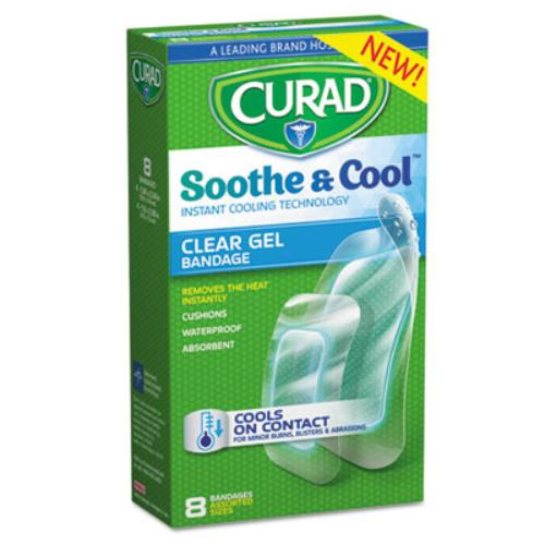 Medline Industries Curad Soothe & Cool Bandage, 8 ea