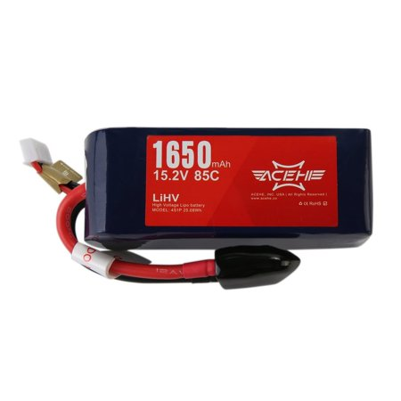 High Voltage ACEHE 14.8V 1650mAh XT60 Lipo Battery For HV Series Quadcopter - image 2 of 4