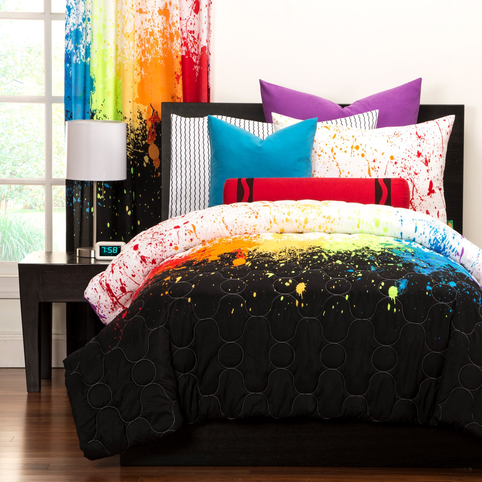 Cosmic Burst Duvet Set by Crayola