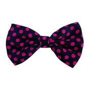 Bow Tie Big Pink Polka Dots