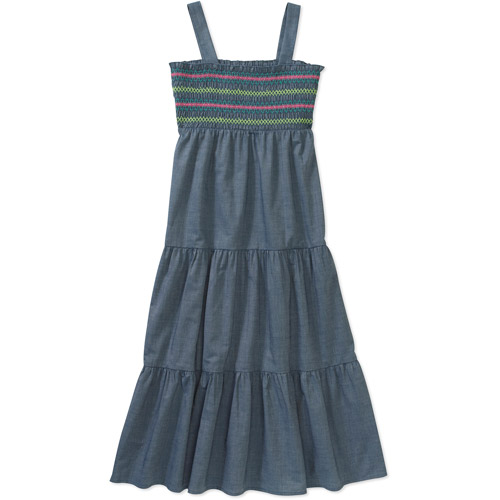 Faded Glory Girls' Maxi Dress