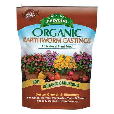 - Espoma 3.5 lbs. 0.5-0-0 Organic Earthworm Castings