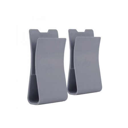 Topumt 2pcs Gun Bag Support Adapter Airsoft Paintball Pouch Clip Accessories ()
