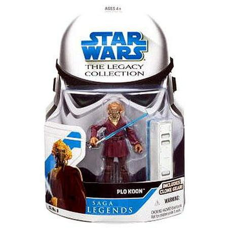 Star Wars Legacy Collection 2008 Saga Legends Plo Koon Action - Star Wars The Clone Wars Plo Koon