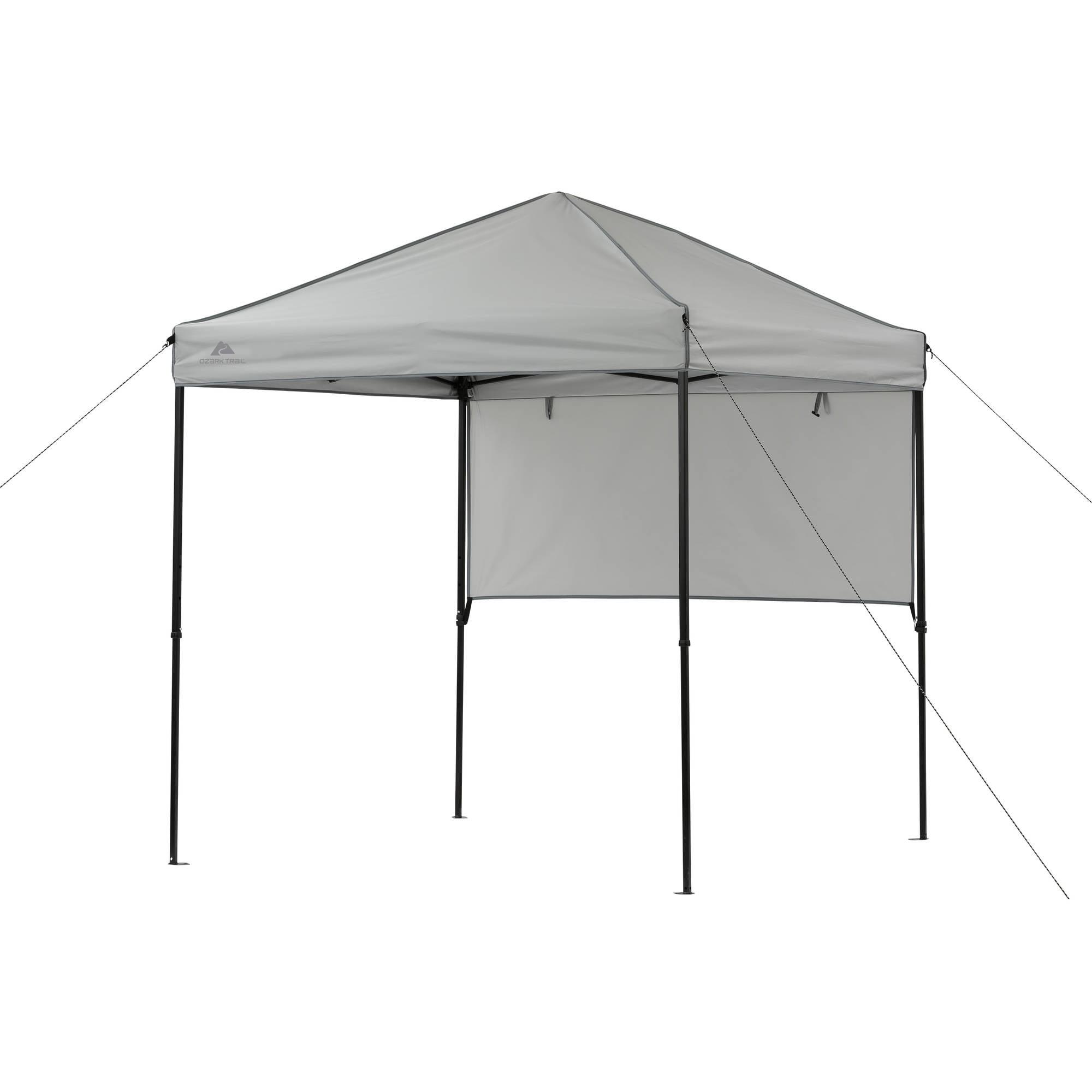 Ozark Trail 6 X 6 Instant Sport Canopy With Sun Wall