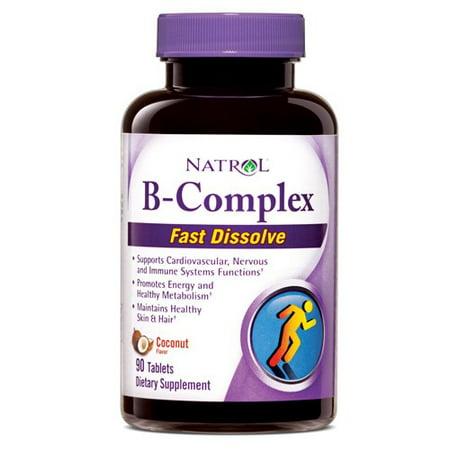Natrol B-Complex Fast Dissolve Tablets, 90 Ct