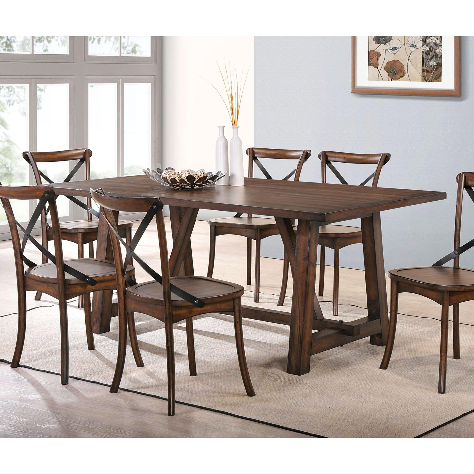 ACME Kaelyn Dining Table, Dark Oak