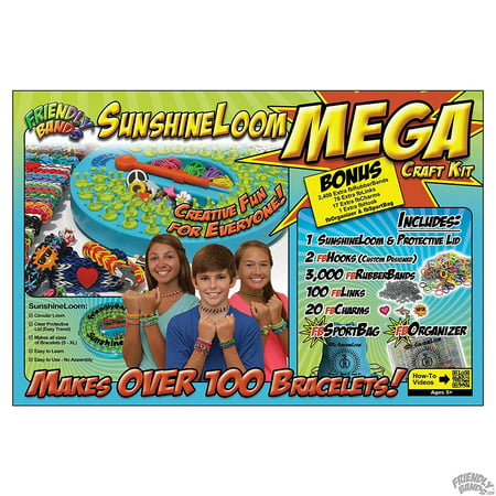 Friendly Bands Mega Sunshine Loom Craft Kit