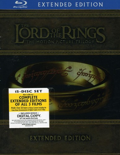 Lord of the Rings Trilogy (Blu-ray) by WARNER STUDIOS