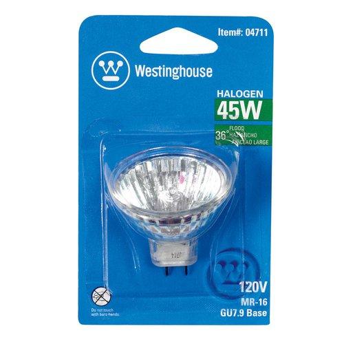 Westinghouse Lighting 45W GU7.9 Dimmable Halogen Floodlight Light Bulb