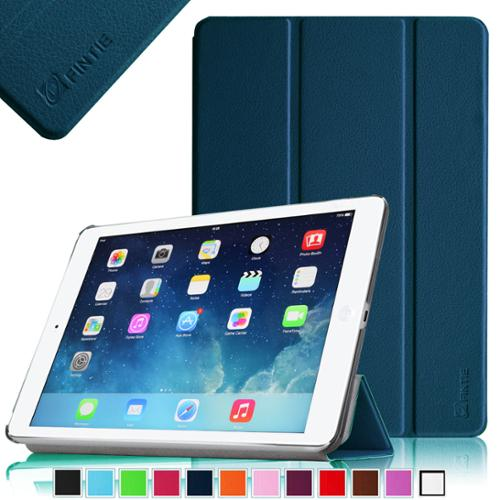 Fintie iPad Air SmartShell Case - Ultra Slim Lightweight Stand Smart Cover with Auto Wake / Sleep, Navy