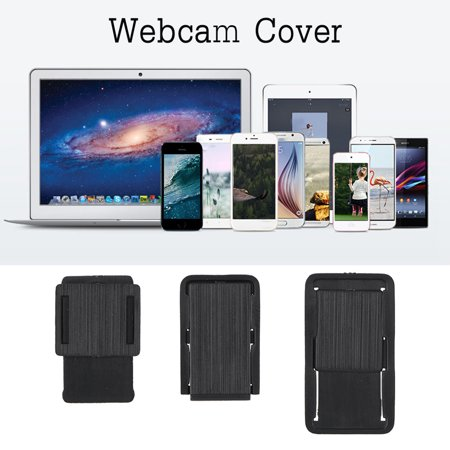 3pcs Webcam Shutter Black Cover Protect Privacy for Desktop Tablets Laptops Mobile Phones, Camera Cover, Webcam Cover