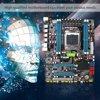 Main Black X79 Motherboard Ram Combo Lga2011 Reg Ecc Ddr3 4 Channels E5-2670 I7 Cpu
