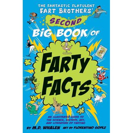 The Fantastic Flatulent Fart Brothers' Second Big Book of Farty Facts : An Illustrated Guide to the Science, History, Art, and Literature of Farting (Humorous Non-Fiction Book for Kids); Us Edition (5 Facts About The History Of Halloween)