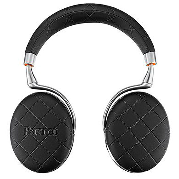 Parrot Zik 3 Wireless Noise Cancelling Bluetooth Headphones (Black Overstitched)