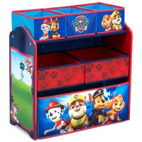 Nick Jr. PAW Patrol Multi-Bin Toy Storage Organizer by Delta Children