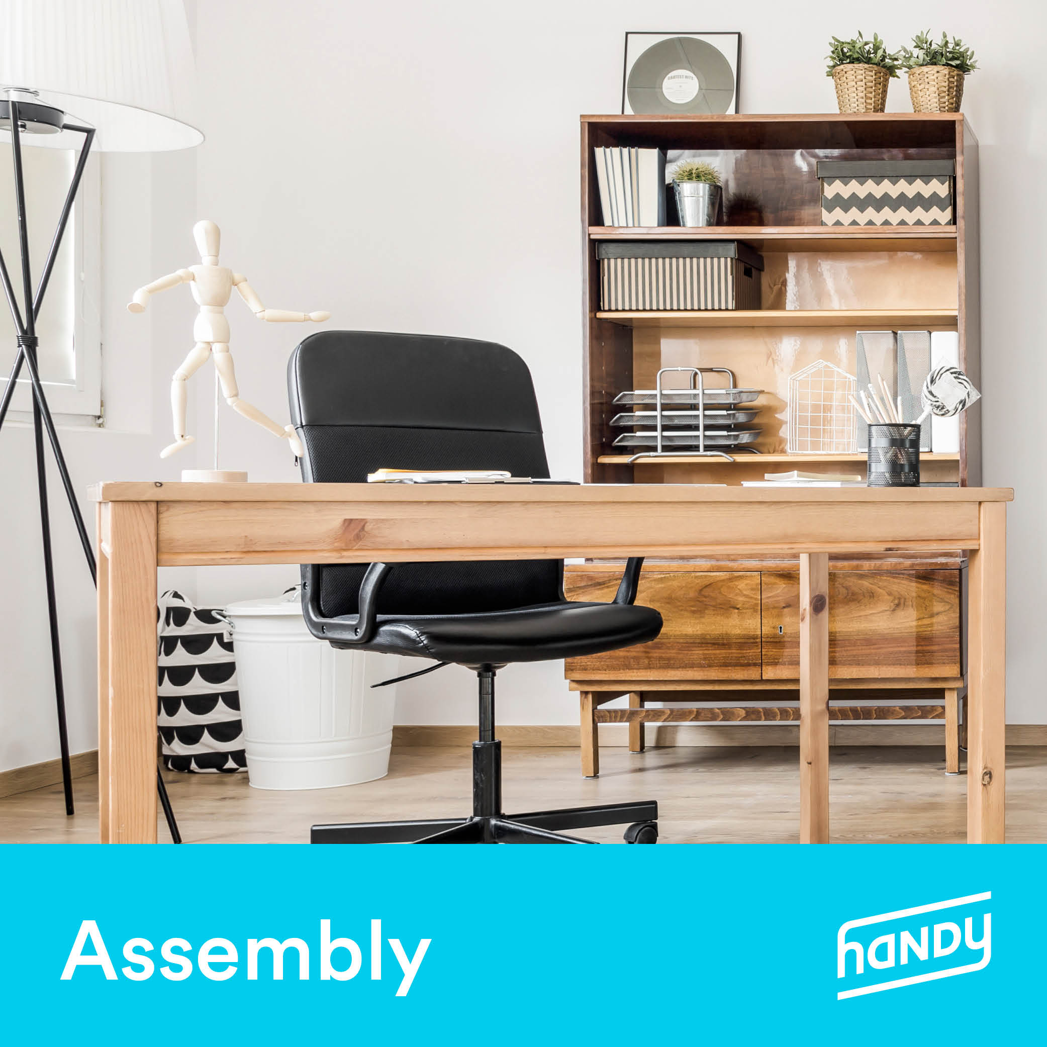 Study Room Furniture Assembly by Handy