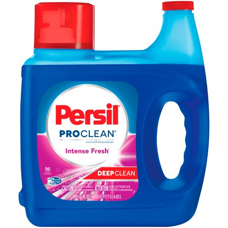 Persil ProClean Liquid Laundry Detergent, Intense Fresh, 150 Fluid Ounces, 96 Loads