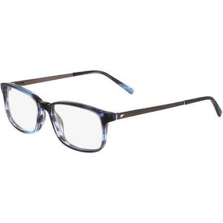 Altair Eyeglasses A4037 424 Blue Horn 53Mm