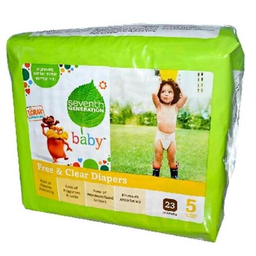 Seventh Generation BG18037 Seventh Generation Diapers Stage 5 - 4x23 CT