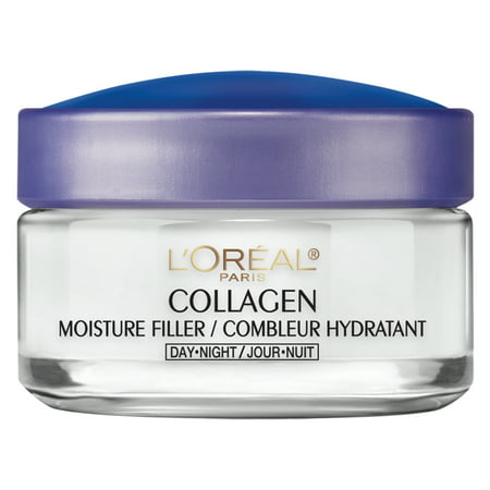 L'Oreal Paris Collagen Moisture Filler Facial Day Night Cream, 1.7 (The Best Wrinkle Cream In The World)