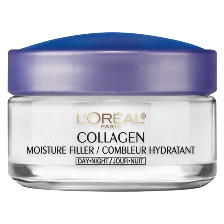 L'Oreal Paris Collagen Moisture Filler Facial Day Night Cream, 1.7