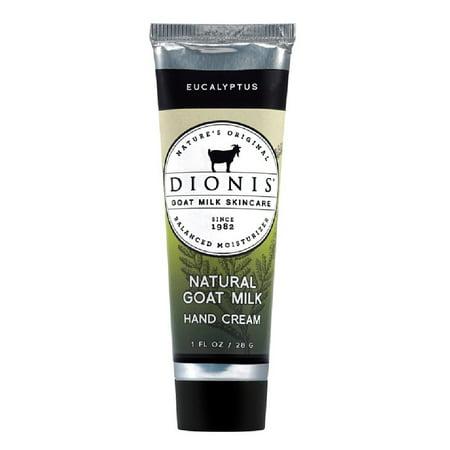 Dionis C23102-4 Goat Milk Hand Cream Eucalyptus Scent, 1