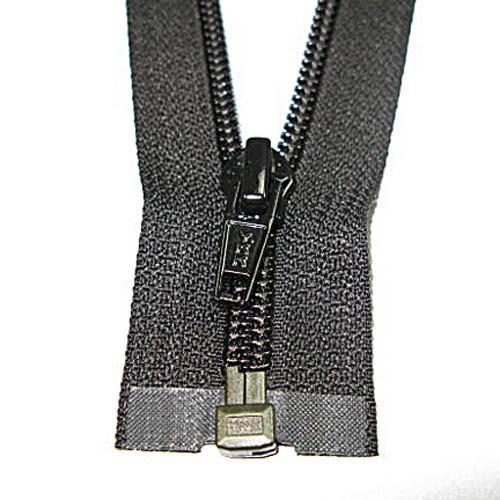 6 #5C YKK Closed Nylon Black Zipper