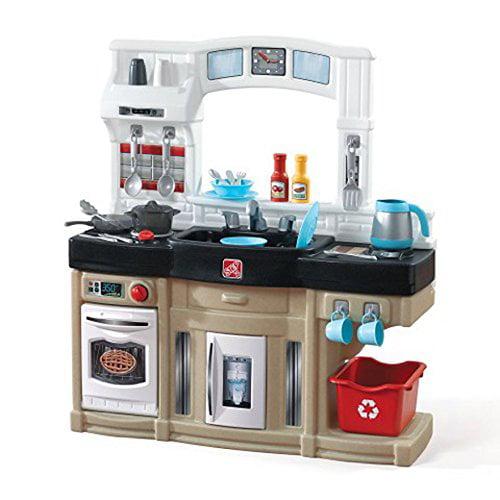 step 2 modern cook kitchen with bonus 25 piece accessories