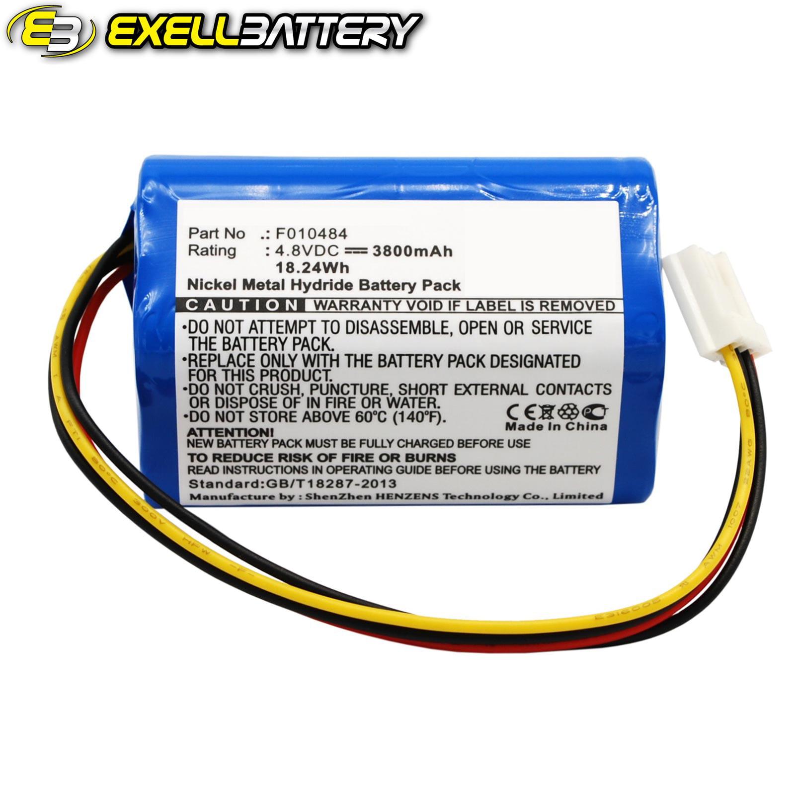 4.8V 3800mAh Medical Battery For Kangaroo F010484 ePump E...