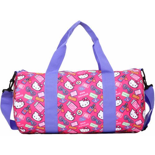 ... Hello Kitty Bon Voyage Barrel Duffle Bag - Walmart.com new product  bcc07 89efd ... 4879d98f36
