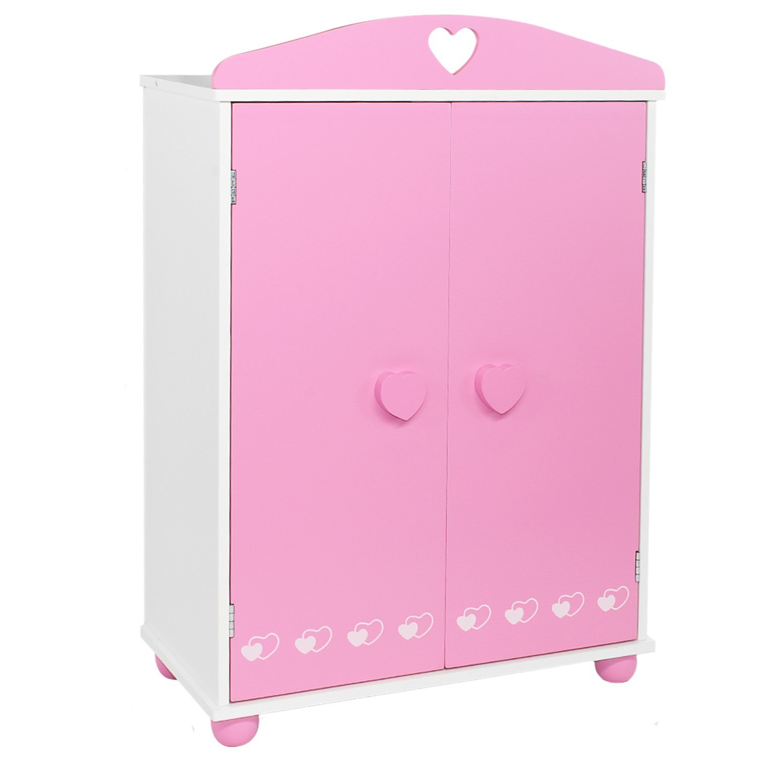 Doll Armoire Closet Bedroom Furniture For American Girl ...