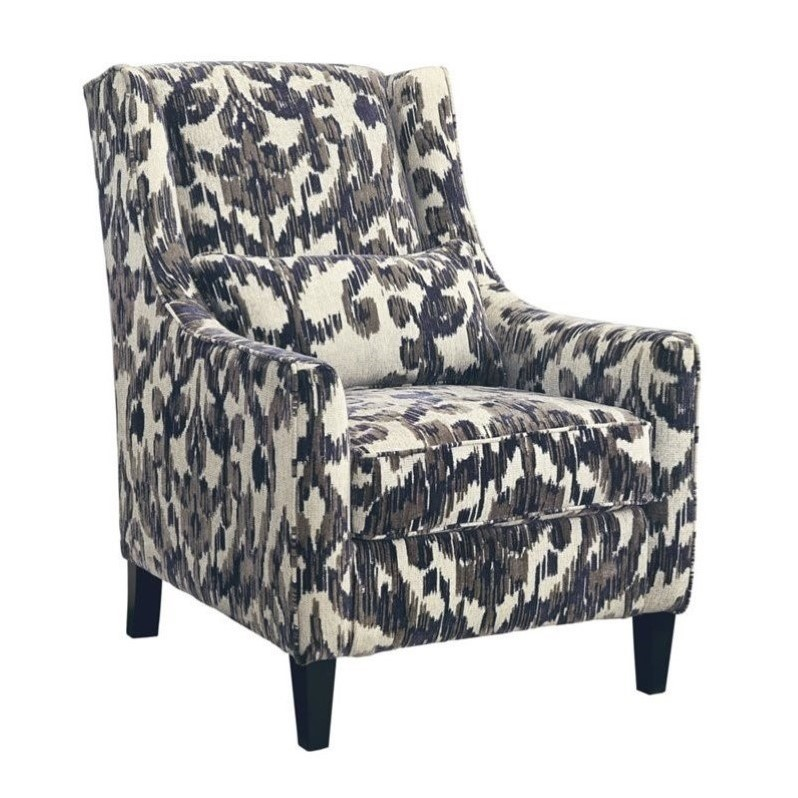 Ashley Owensbe Fabric Accent Chair in Smoke by Ashley Furniture