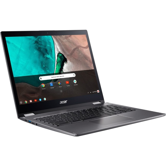 "Acer Chromebook Spin 13 CP713-1WN CP713-1WN-55HT 13.5"" Touchscreen LCD 2 in 1 Chromebook - Intel Core i5 (8th Gen) i5-8250U Quad-core (4 Core) 1.60 GHz - 8 GB LPDDR3 - 64 GB Flash Memory - Chrome OS -"