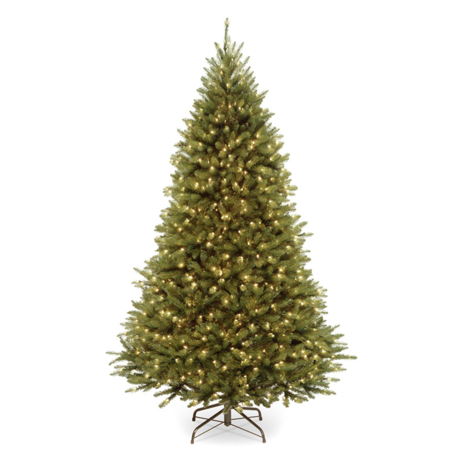 7.5' PowerConnect Kingswood Fir Tree with Dual Color LED Lights