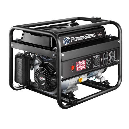(Briggs & Stratton PowerBoss 30667 3500W Running Gas Powered Portable Generator)