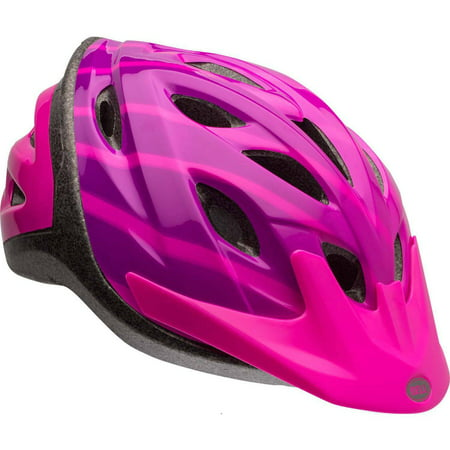 Bell Axle Shifter Bike Helmet, Pink, Youth 8+ (Bell Volt Bike Helmet)