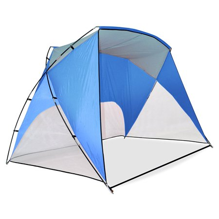 Canopy Sport Shelter, Blue, Strong, durable fiberglass tube By Caravan Ship from US