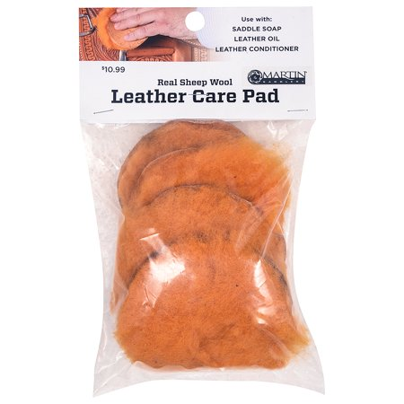 CLASSIC EQUINE HORSE TACK LEATHER CARE GROOMING OIL PAD WOOLSKIN PACK OF - Equine Leather