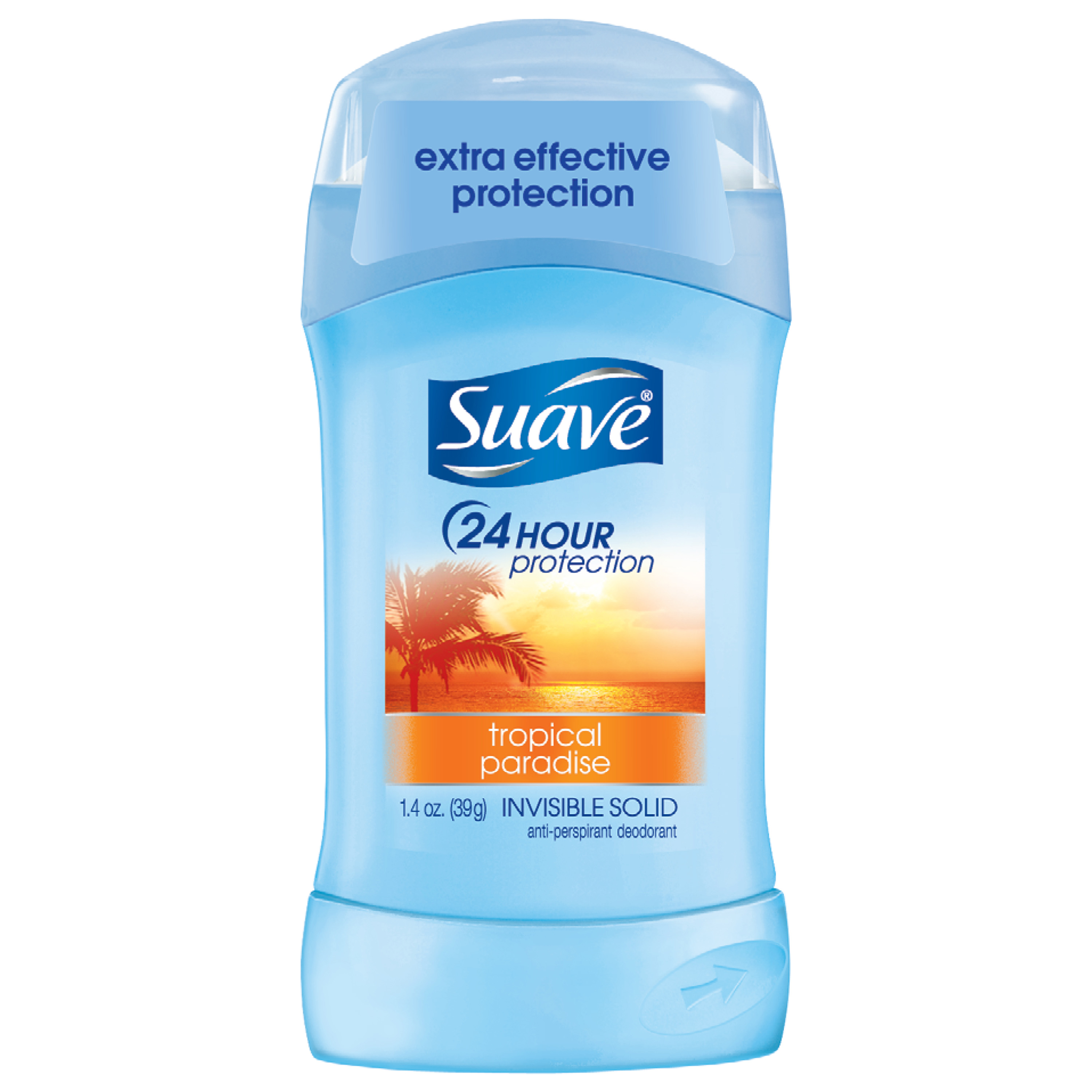Suave Tropical Paradise Antiperspirant Deodorant, 1.4 oz