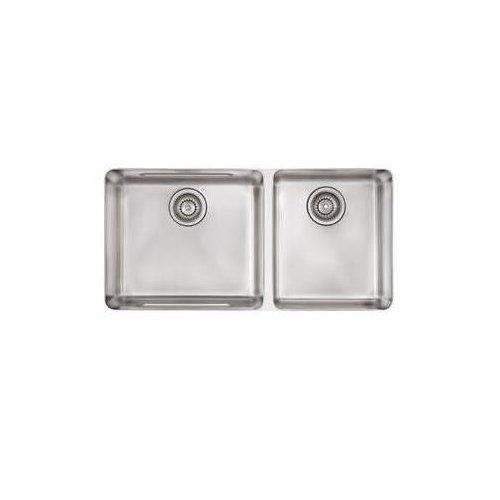 Franke KBX12034 Kubus Undermount Kitchen Sink, Stainless Steel