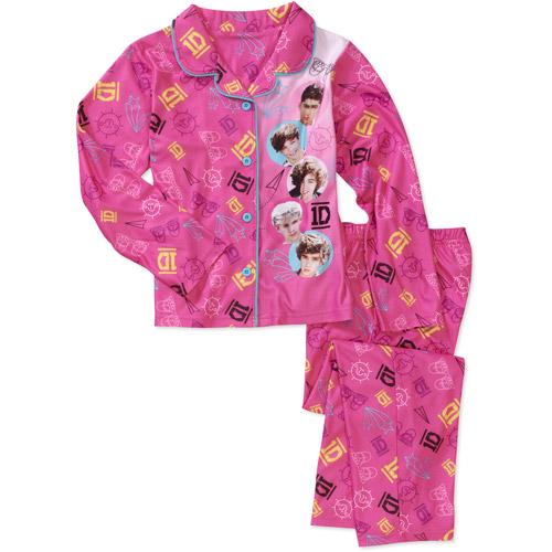 1D Girls' 2 Piece Coat Pajama Set