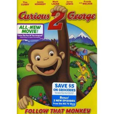 Curious George 2  Follow That Monkey   Widescreen