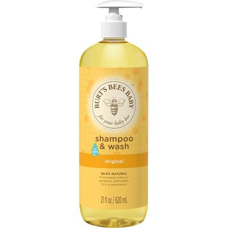 Burt's Bees Baby Shampoo & Wash, Original Tear Free Baby Soap - 21 Ounce