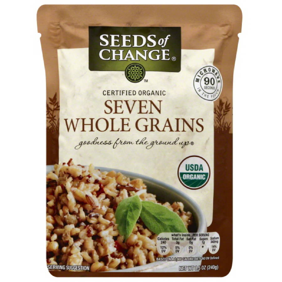 Seeds of Change Seven Whole Grains Rice, 8.5 oz, (Pack of 12)