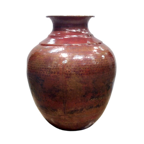 Pasargad Pasargad Hand-Forged Decorative Copper Vase